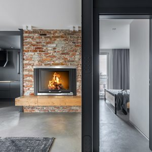 Klover boiler fire place tkr 35 2