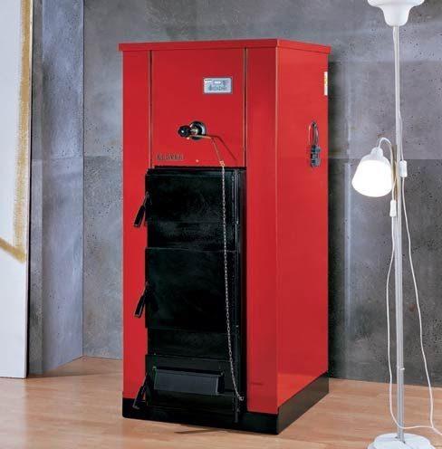 Klover wood fire utility boiler