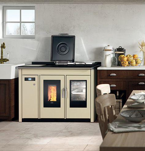 smart 120 bt pellet boiler cooker 1